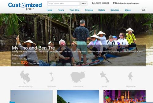 customizedtour.com