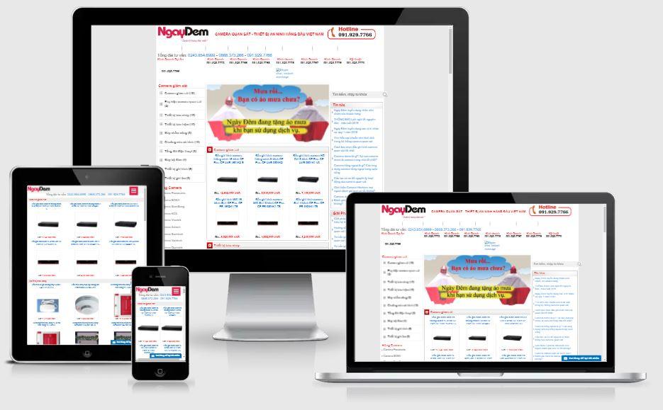 Dự án website ngaydem.vn