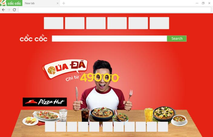 Quảng cáo Browser Skin trên Cốc Cốc