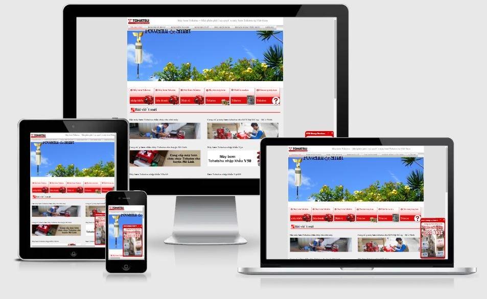 Dự án Website tohatsu.vn