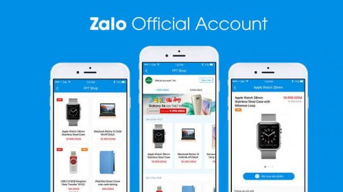 Dịch vụ quảng cáo bài viết trên OA của Zalo tại Web Media