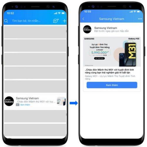 Dịch vụ quảng cáo Inbox Ads tại WebMedia