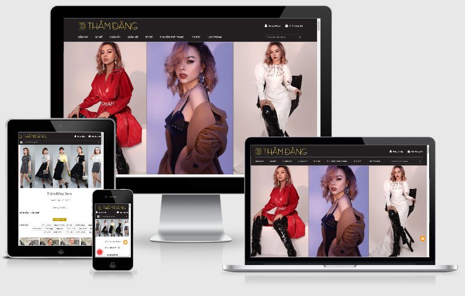 Dự án PR báo điện tử chuyên mục [thời trang] thamdangstore.vn