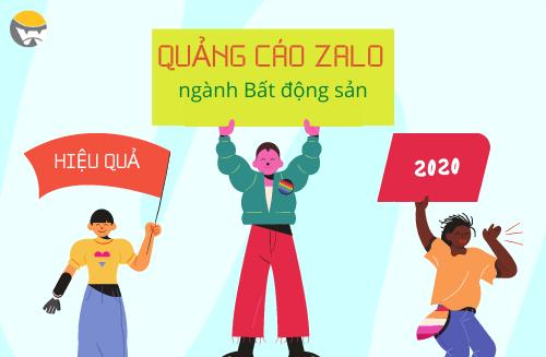 6 hình thức quảng cáo Zalo Ads hiệu quả cho ngành Bất động sản thumbnail