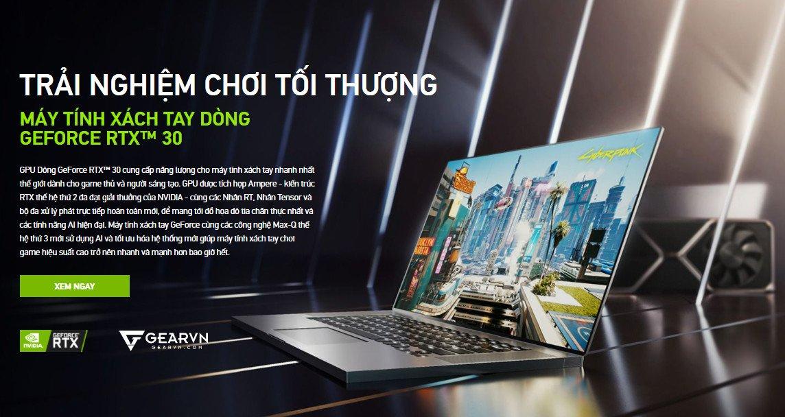 Dự án quảng cáo Banner báo điện tử GEARVN