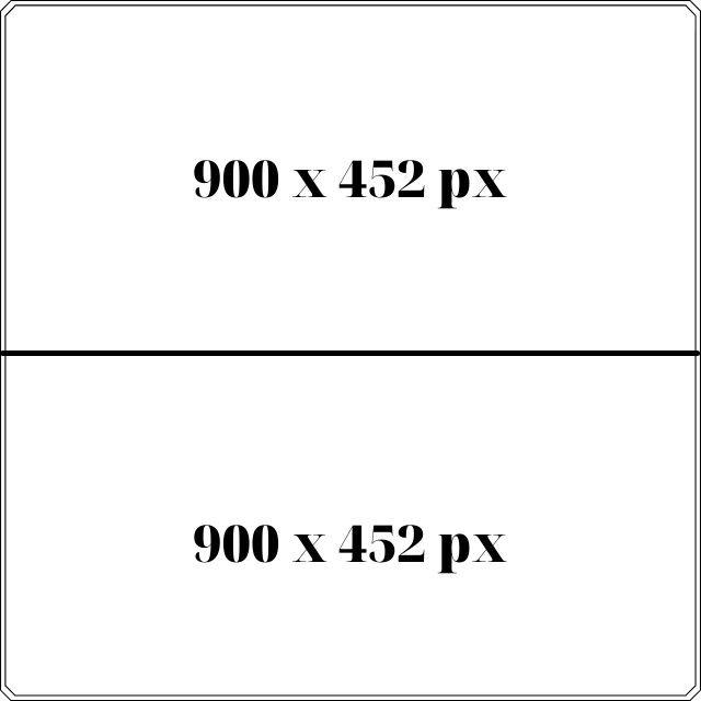 Kích thước ảnh quảng cáo Facebook với 2 ảnh 900 x 452px